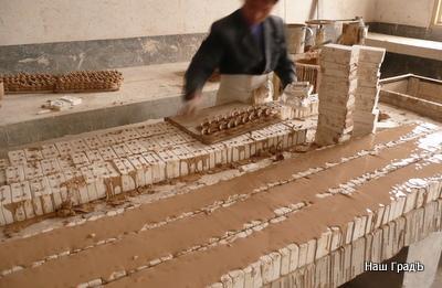 Производство кружек - изготовление ручек