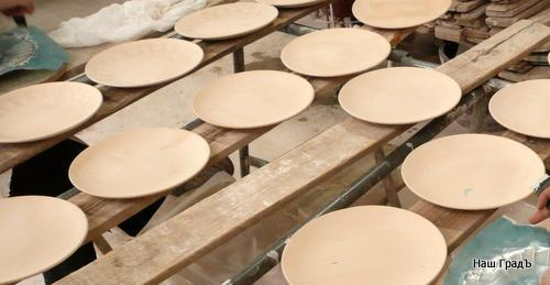 Производство тарелок